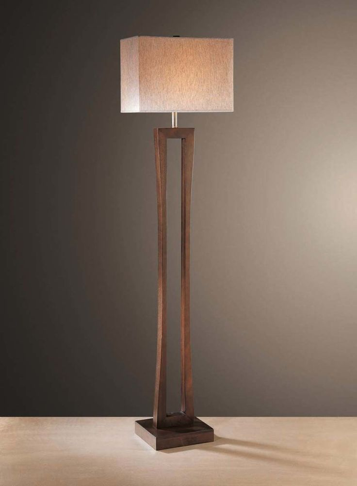 Transitional Floor Lamp