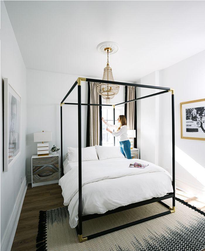 Inside A Head Designeru0027s Parisian Inspired Townhouse. Transitional  BedroomCanopy ...