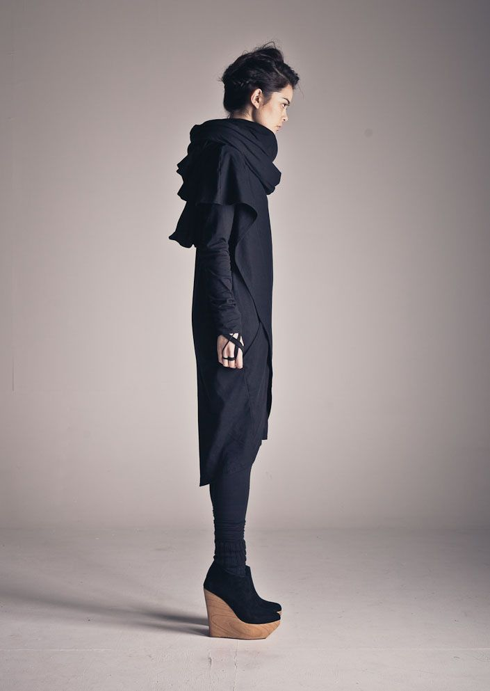 kowtow clothing - 100% certified fairtrade organic cotton clothing - dress and scarf love.