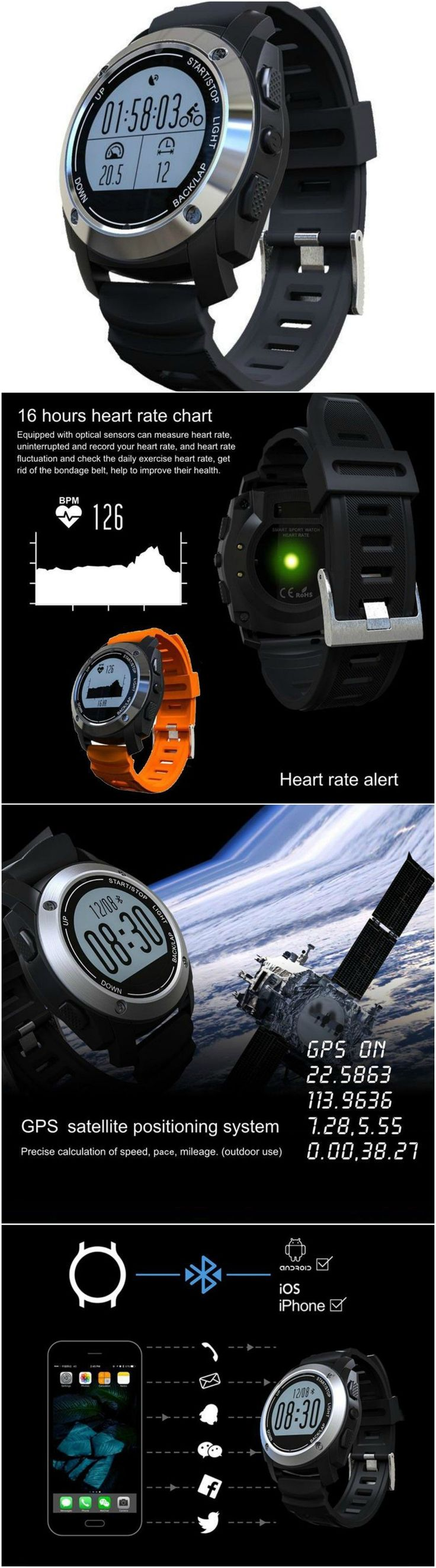 Best 25 blood pressure monitor watch ideas on pinterest low new fitness tracker wristband heart rate monitor smart band with blood pressure pedometer compatible with android ios via bluetooth nvjuhfo Images