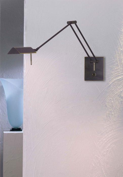 Holtkotter Lighting 8191 HBOB Bernie Series Transitional Swing Arm Wall One Light