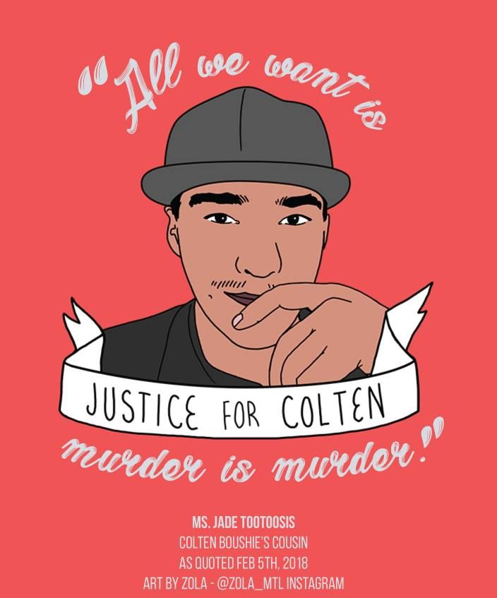 Check out the Discussion Guide: Justice for Colten Boushie!