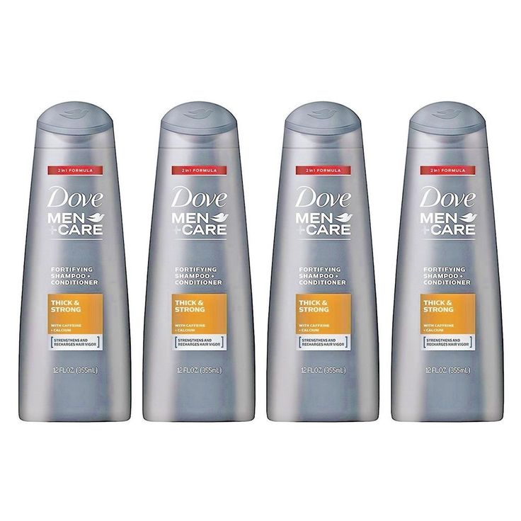 Dove Men Care Shampoo + Conditioner Thick and Strong #Dove