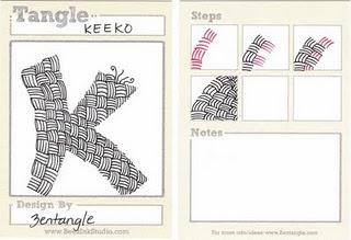 Keeko: Zentangle Instructions, Doodle, Zentangles, Art, Zentangle Tutorials, Zentangle Patterns, Week
