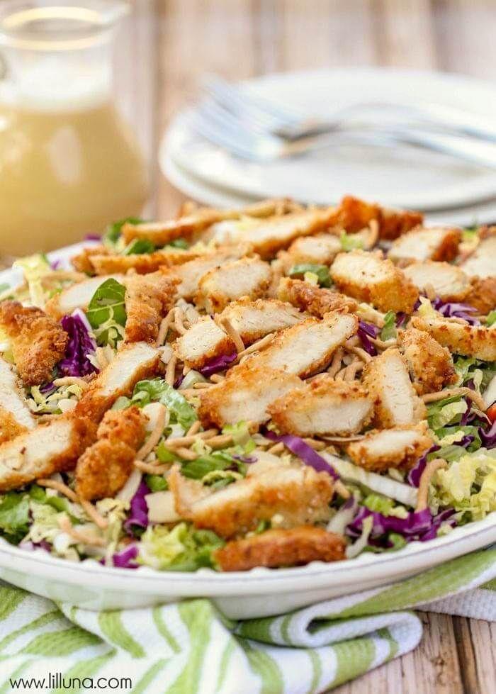 Copycat Applebee's Oriental Salad