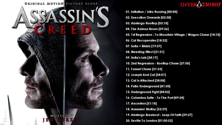 Assassin's Creed Movie (2016) - Original Motion Picture Score