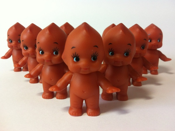 Brown Standing Pack Of 12. Kewpie DollTiny GiftsBright ColoursBaby ShowersKids  ...