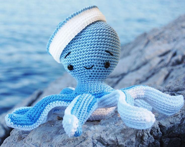 Pepika Amigurumi Pattern -  Sailor Octopus