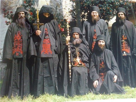 Eastern Orthodox Church - Orthodox monks Great Schema