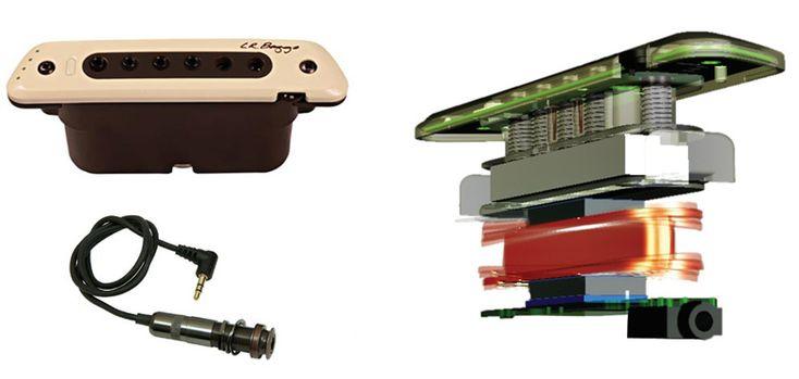 LA GUITARE . COM - bancs d'essai - sonorisation - l.r. baggs m80 micro pour acoustiques materiel lr baggs m80 micro magnetique pour acoustique - GUITARE