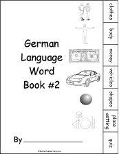 German Language Activities at EnchantedLearning.com