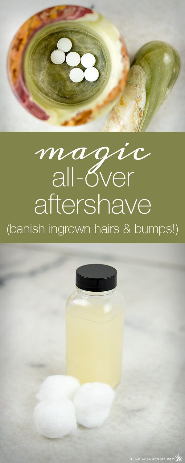 How to Make Magic All-Over Aftershave for razor burn and discomfort
