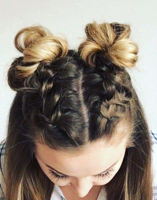 29 French Braid Ideas For Short Hair That Make You Say Wow In Summer 2019 Summer Braids Short Hair Styles Braided Hairstyles Hair Styles