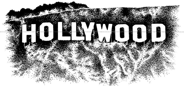 Hollywood Sign Clipart