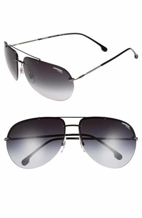 99d873e83bc4 Carrera Eyewear 149S 65mm Polarized Aviator Sunglasses | Men's ...