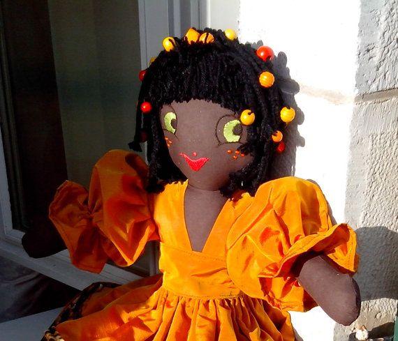 Puppe Vintage Die Ethnisch ist Die Romantisch par PoupeesCollection