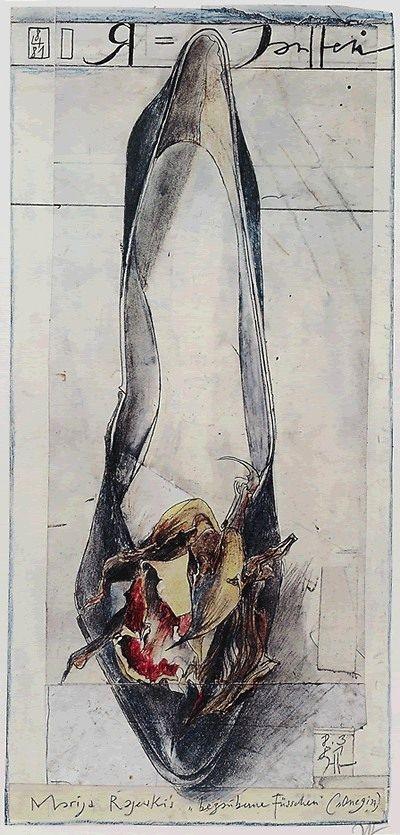 Horst Janssen, fascinating artist!