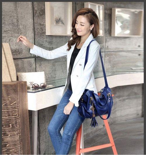 BJ4613-BLUE :Rp,193,000,- #TasImport #Supplier #Grosir #Tas #Baju #Aksesoris #Tasmurah #Trusted #Bag #Jualanku