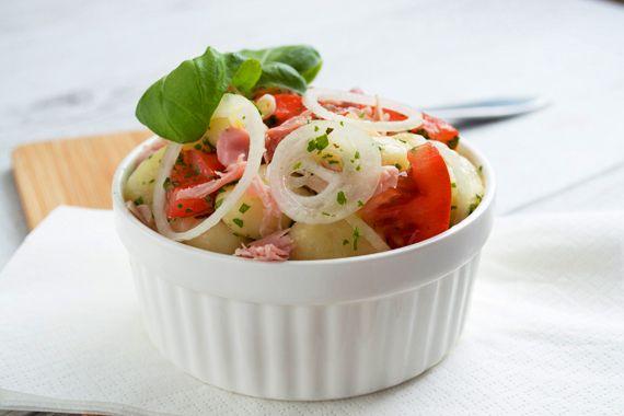 Warmer gnocchi salat