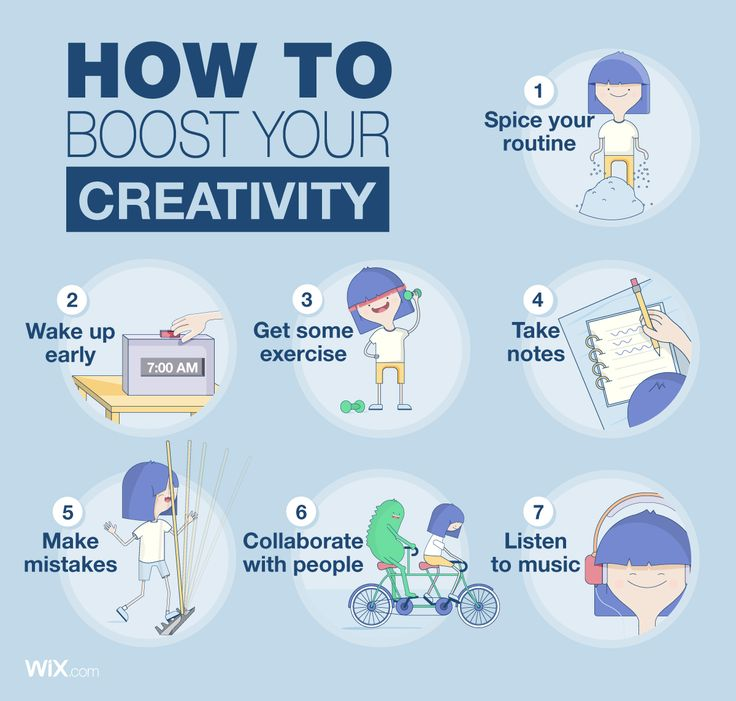 How to Boost Your Creativity | Illustration and Infographic