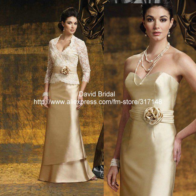 Best Golden Wedding Anniversary Dresses Fashion Dresses