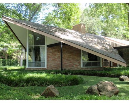 mid century modern: butterfly house