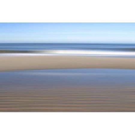 Posterazzi Strand Canvas Art - Gerhard Rossmeissl (24 x 36)