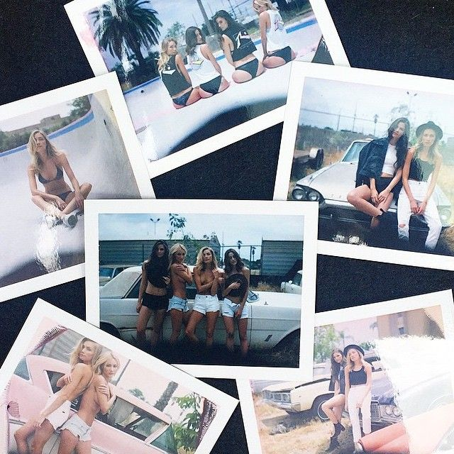 #ourkind babes @bhollyb @becclane @erikaangel_ and @aldensteimle getting down LA style for #rusty  (at au.rusty.com)