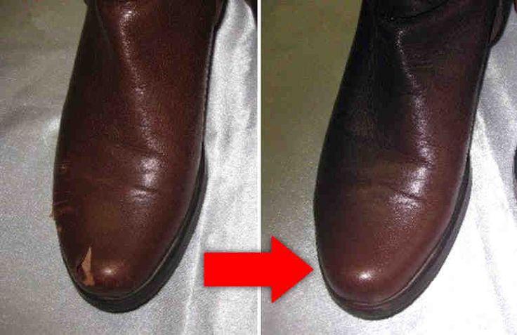 Иногда возникает необходимость реставрации кожаных изделий. В такой реставрации может нуждаться и обувь, и сумка, и кожаная куртка и, конечно, кожаная мебель. Это происходит, когда на кожаном изделии появляются царапины или задиры, которые нужно как-то замаскировать.    Современная бытовая хими