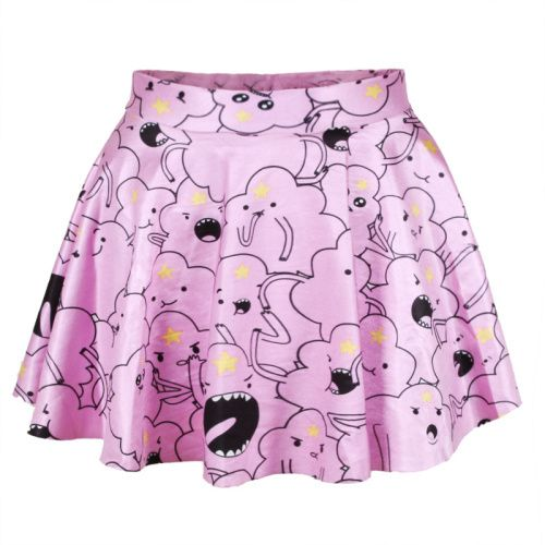 East Knitting R5 New 2014 spring women pleated skirts Lumpy Space Princess SKIRT short Saia free shipping $7.88