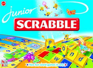 alle tre. SPILL JUNIOR SCRABBLE NO