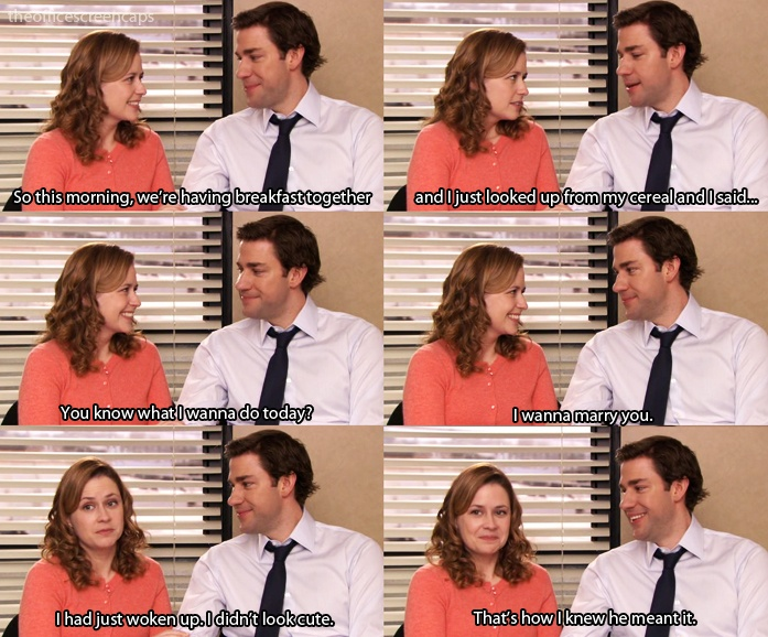 Does jim and pam dating in real life