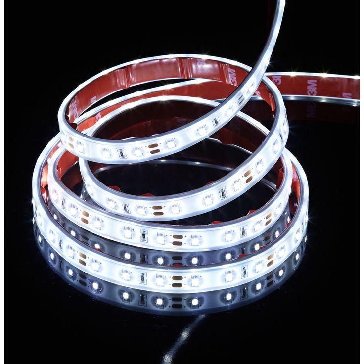 6' White Coated Flex LED Tape Light Kit - Style # 9Y766