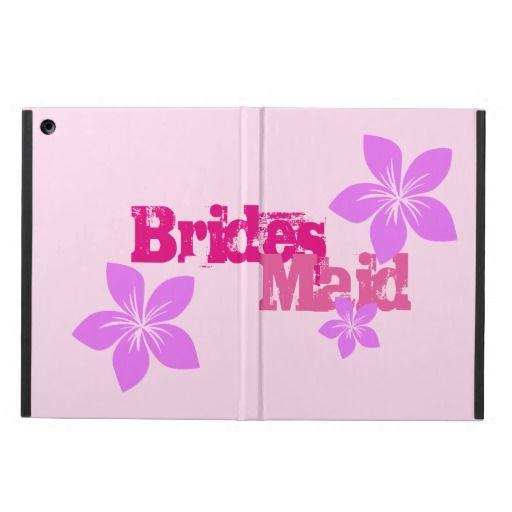 Bridesmaid iPad Air Cover