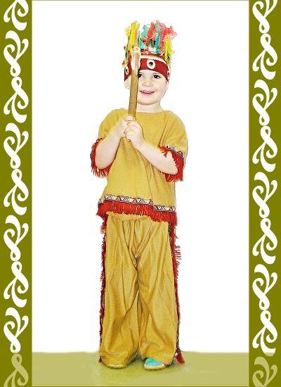kostým indián, půjčovna Ladana