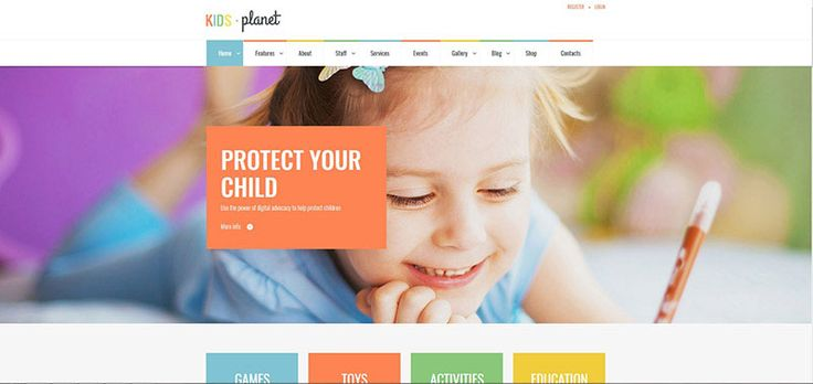 Kids Planet - Multipurpose Children WP Theme