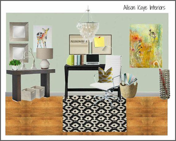 17 best images about allison kaye interiors on pinterest neutral color scheme pendant - Small business space paint ...