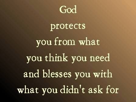 ..your Father knows what you need before you ask Him. Matthew 6:8 ESV