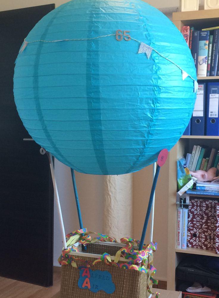 Diy Geburtstagsgeschenk Gutschein Ballonfahrt Made By Me