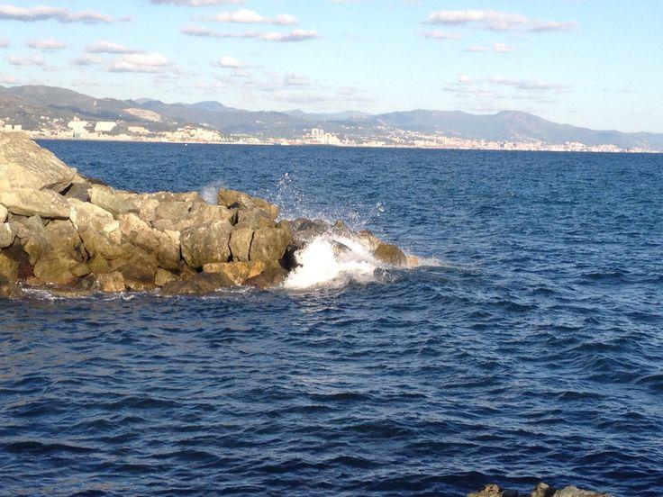 Mediterannean Sea - Arenzano, Italy