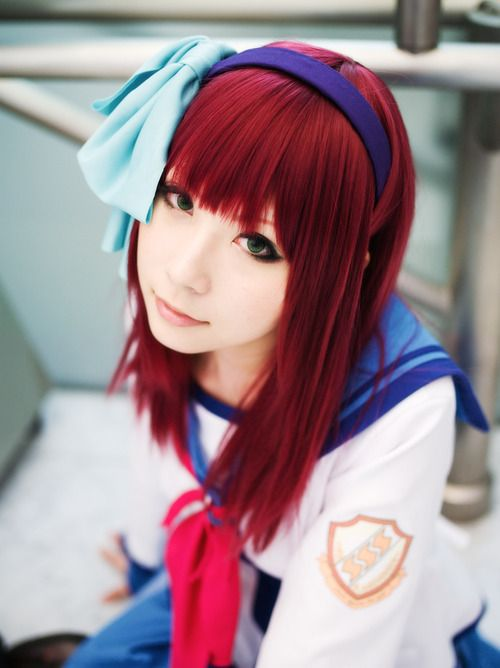 Anime Cosplay | Anime Angel Beats Cosplay this is the cosplay i want to do so badly!!!!!!!!!!!!!!!