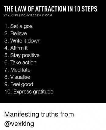 Respectable synergized law of attraction tips Over…