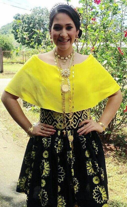 Mola belt and saburete skirt