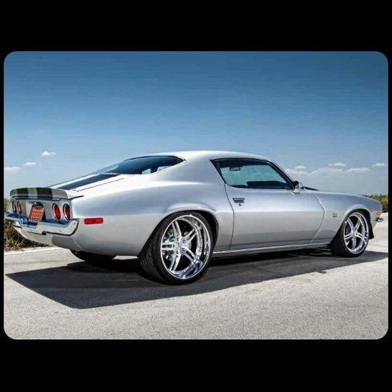 1972 Chevrolet Camaro SS....love the lip on the wheels
