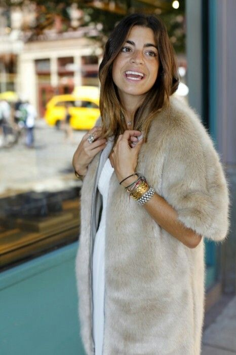 Could I remake my blonde mink into this coat? #fur