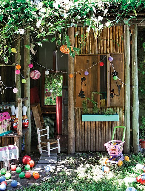 Un jard n para disfrutar en compa a caba a de jard n for Cabanas de jardin