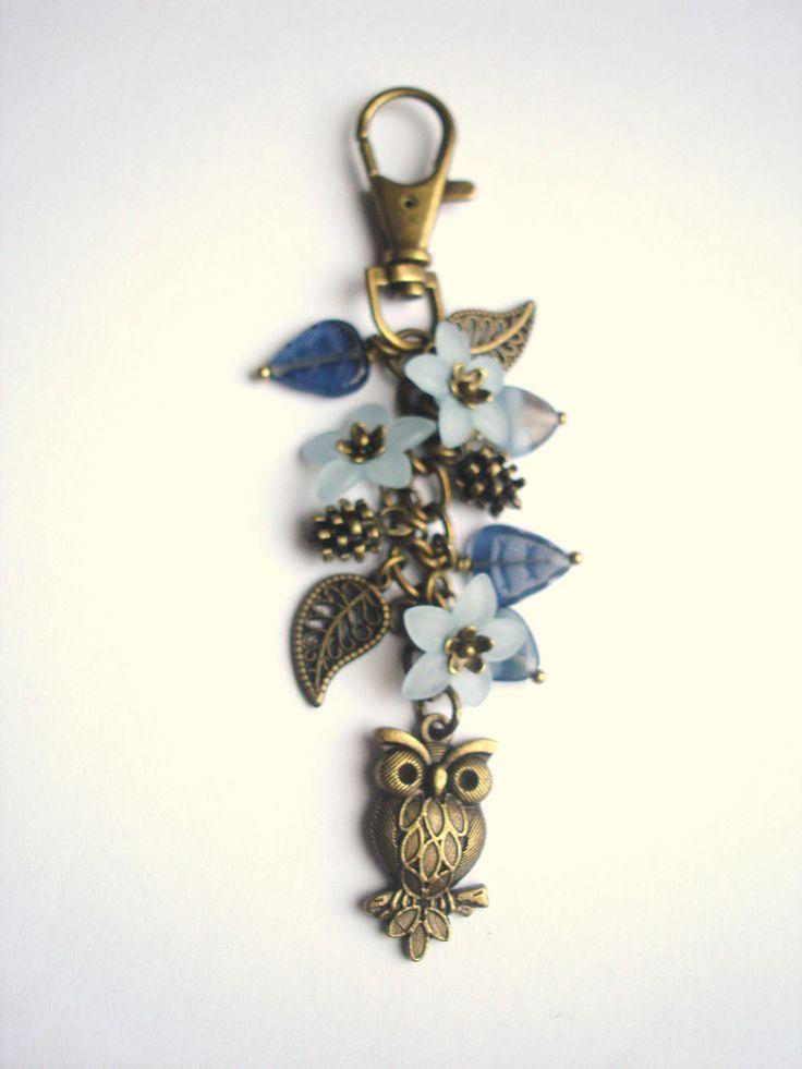 Owl bag Charm