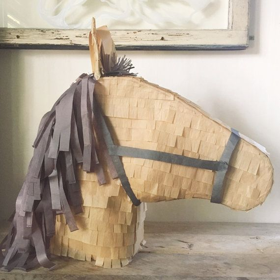 Piñata de caballo