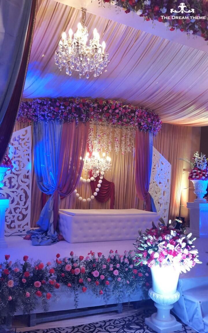 Wedding decoration ideas stage   best Wedding venues images on Pinterest  Indian bridal Indian