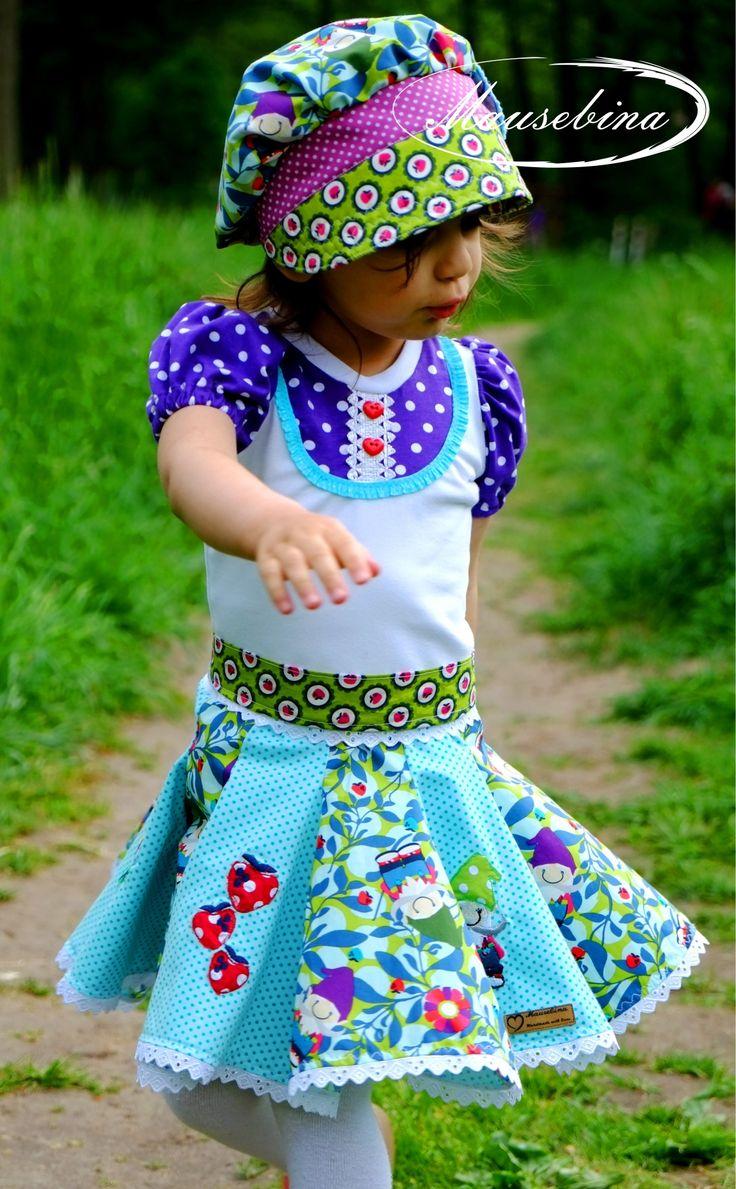 39 best Mädchenkleider images on Pinterest | Nähen für kinder ...